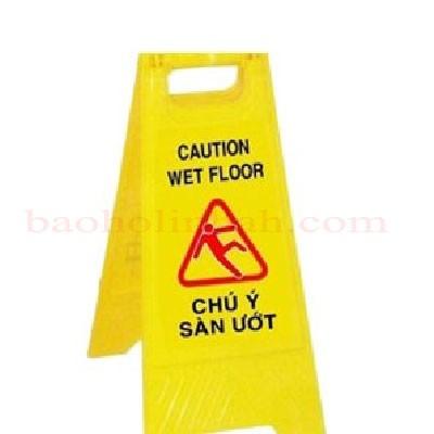 Biển cảnh báo sàn ướt trơn trượt - Biển cảnh báo chữ a giá rẻ